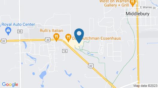 Essenhaus Inn & Conference Center Map