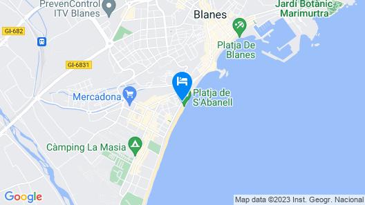 Hotel Pimar & Spa Map