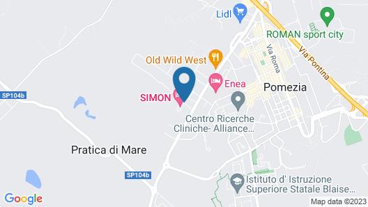 Simon Hotel Map