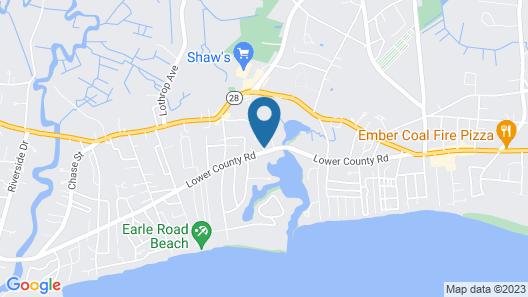 Allen Harbor Breeze Inn & Gardens Map