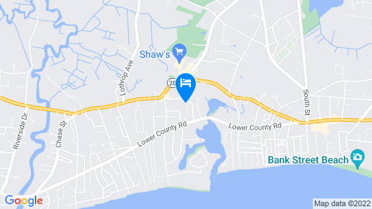 Welcoming 3 Bedroom Cottage Near Beaches Map