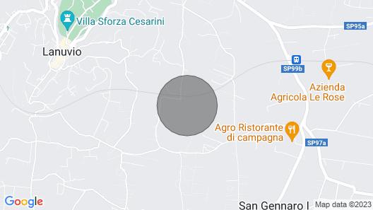 Lomahuoneisto Pineta - Vigna Luisa Resortissa - lähellä Roomaa Map