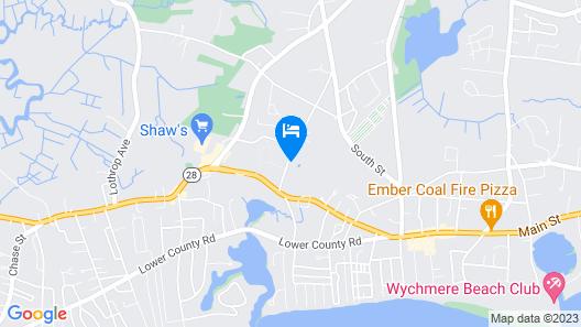 3br Near Main Street & Beach 3 Bedroom Home Map