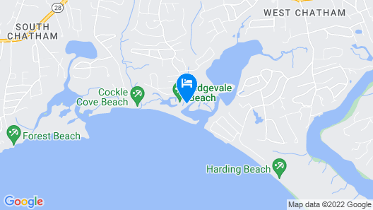 Chatham Seaside Cottage - Oceanfront Beach Cottage - Spectacular Views Map
