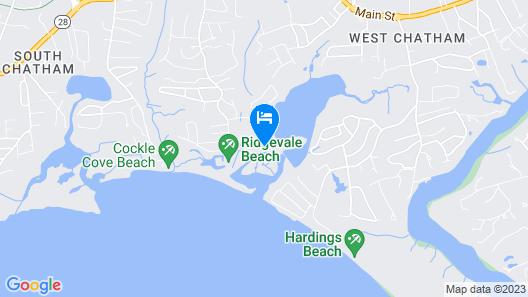 #611: Stunning Water Views, 2 Decks, Walk to Ridgevale Beach, dog Friendly! Map