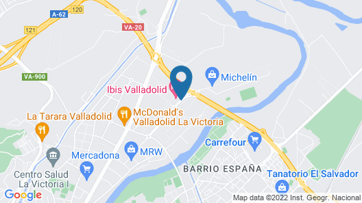 ibis Valladolid Map