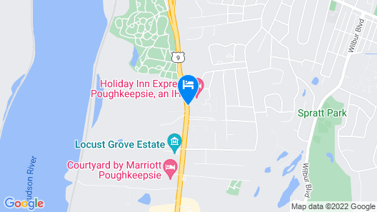 Holiday Inn Express Poughkeepsie Map