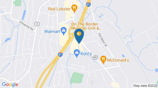 Holiday Inn Express Hartford South - Rocky Hill Map