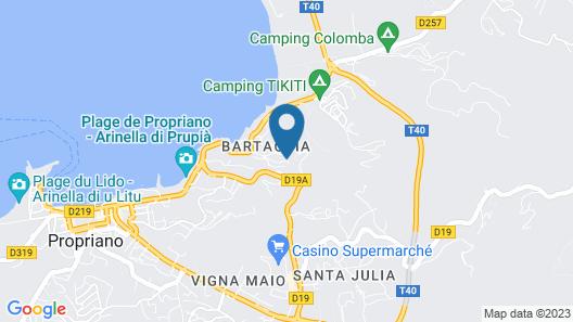 Bartaccia Hotel Map