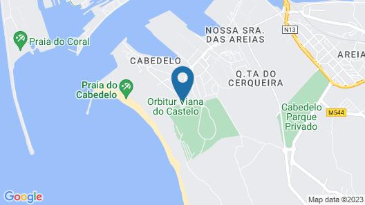 Parque de Campismo Orbitur Viana do Castelo Map