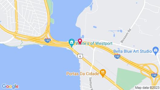 Hampton Inn Fall River/Westport Map