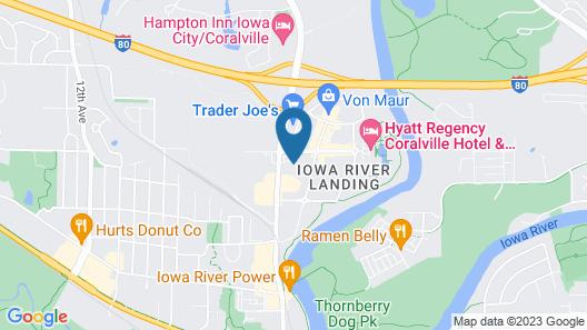 Drury Inn & Suites Iowa City Coralville Map