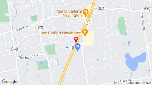 Holiday Inn Express Newington - Hartford, an IHG Hotel Map