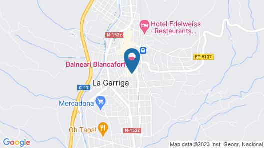 Hotel Blancafort Spa Termal Map