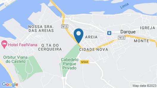 Hotel Do Cais Map