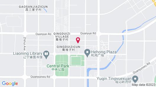 Sheraton Shenyang South City Hotel Map
