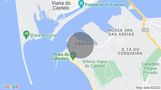Apartamento das Dunas T3, in Beira da Praia Map
