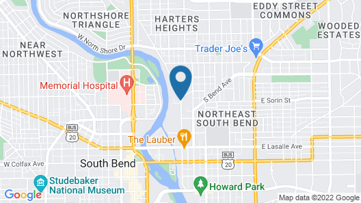 Vivo Suites South Bend Map