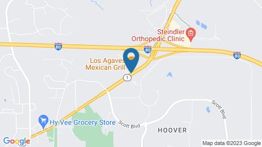 Travelodge by Wyndham Iowa City Map