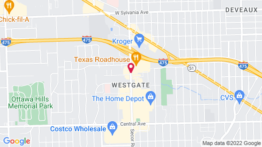 Holiday Inn Express & Suites Toledo West, an IHG Hotel Map