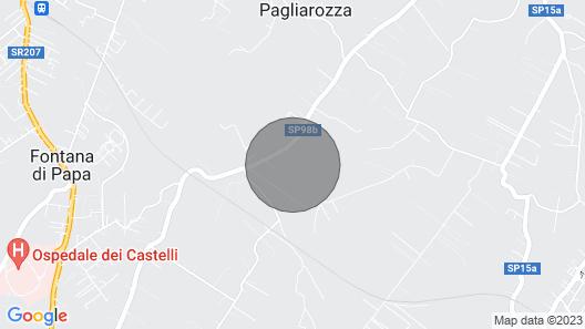 MAGICAL FARMHOUSE NEAR ROME Map