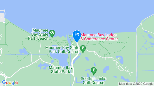 Maumee Bay Lodge and Conference Center Map