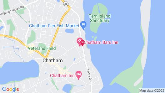 Chatham Bars Inn Map