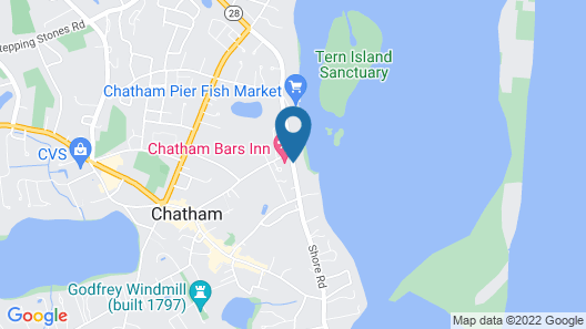 Chatham Bars Inn Map