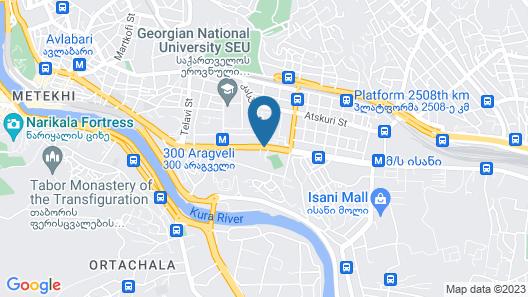 London Palace Map