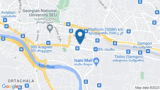Grand Nova Hotel Map