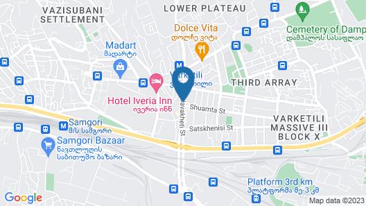 Apart Hotel MX Map
