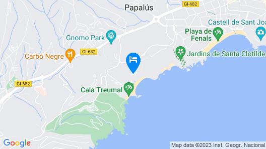 Hotel Santa Marta Map