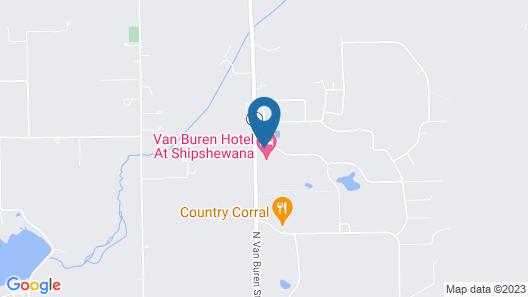 Van Buren Hotel Map