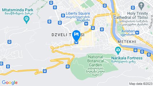Hotel Diplomat Map