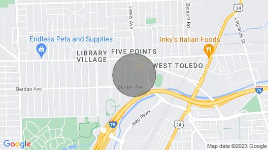 Cozy Lower Level Duplex Map