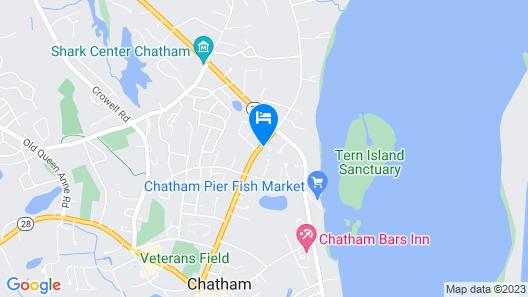 Chatham Gables Inn Map