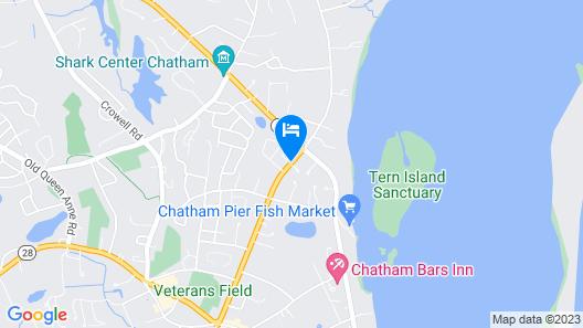 Captain's House Inn Map
