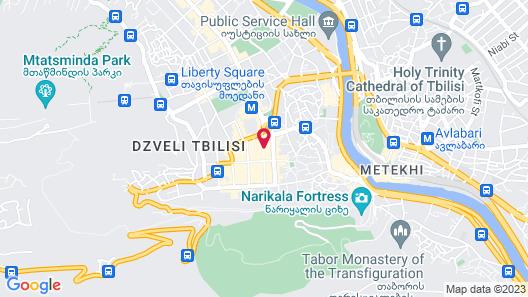 Ibis Styles Tbilisi Center Map