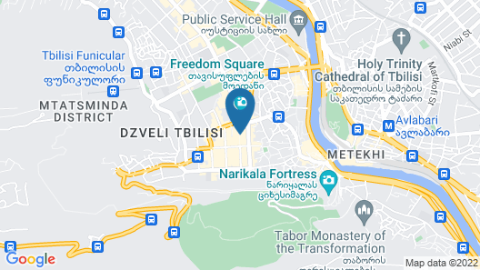 Ibis Styles Tbilisi Center Map