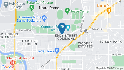 Fairfield Inn & Suites by Marriott South Bend at Notre Dame Map
