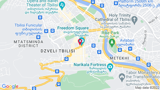 Courtyard by Marriott Tbilisi Map