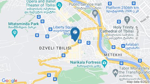 ALL   SEASONS HOTEL Map