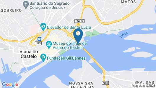 HI Viana Castelo-PousadaJuventude Map