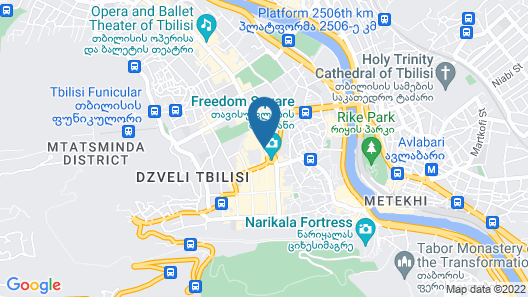 Citadines City Centre Tbilisi Map