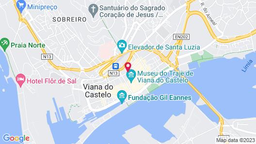 Hotel Laranjeira Map