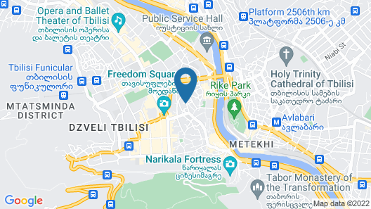 Silver 34 Boutique Hotel Map