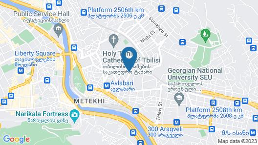 Hotel Isaka Map