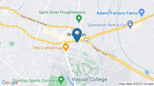 Quality Inn Poughkeepsie Map