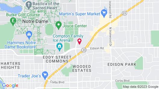 Ivy Court Inn & Suites Map