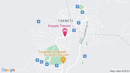 Kopala Tskneti Map